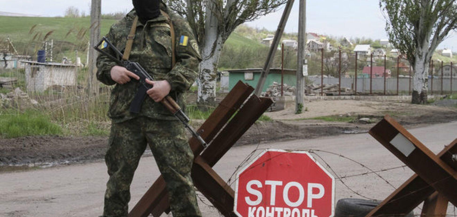 В бою с террористами в Крымском ранен боец Нацгвардии