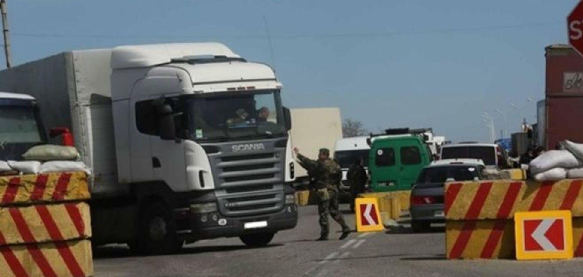 Блокада - вред как для оккупированных территорий, так и для Украины