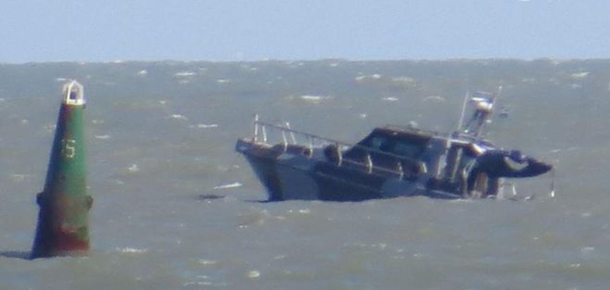 Взрыв катера в Мариуполе: уже есть жертва
