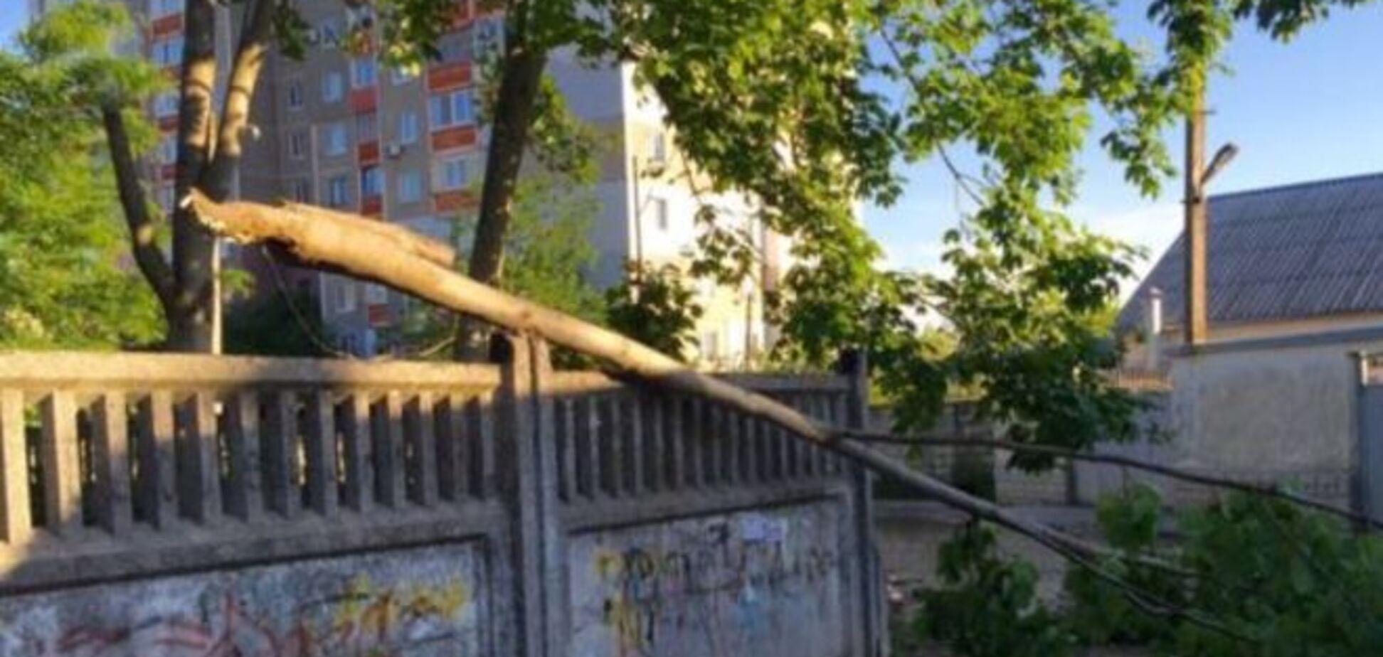 Намкрыш! Обрушившийся на Крым ураган отрезал полуостров от России: фотофакт