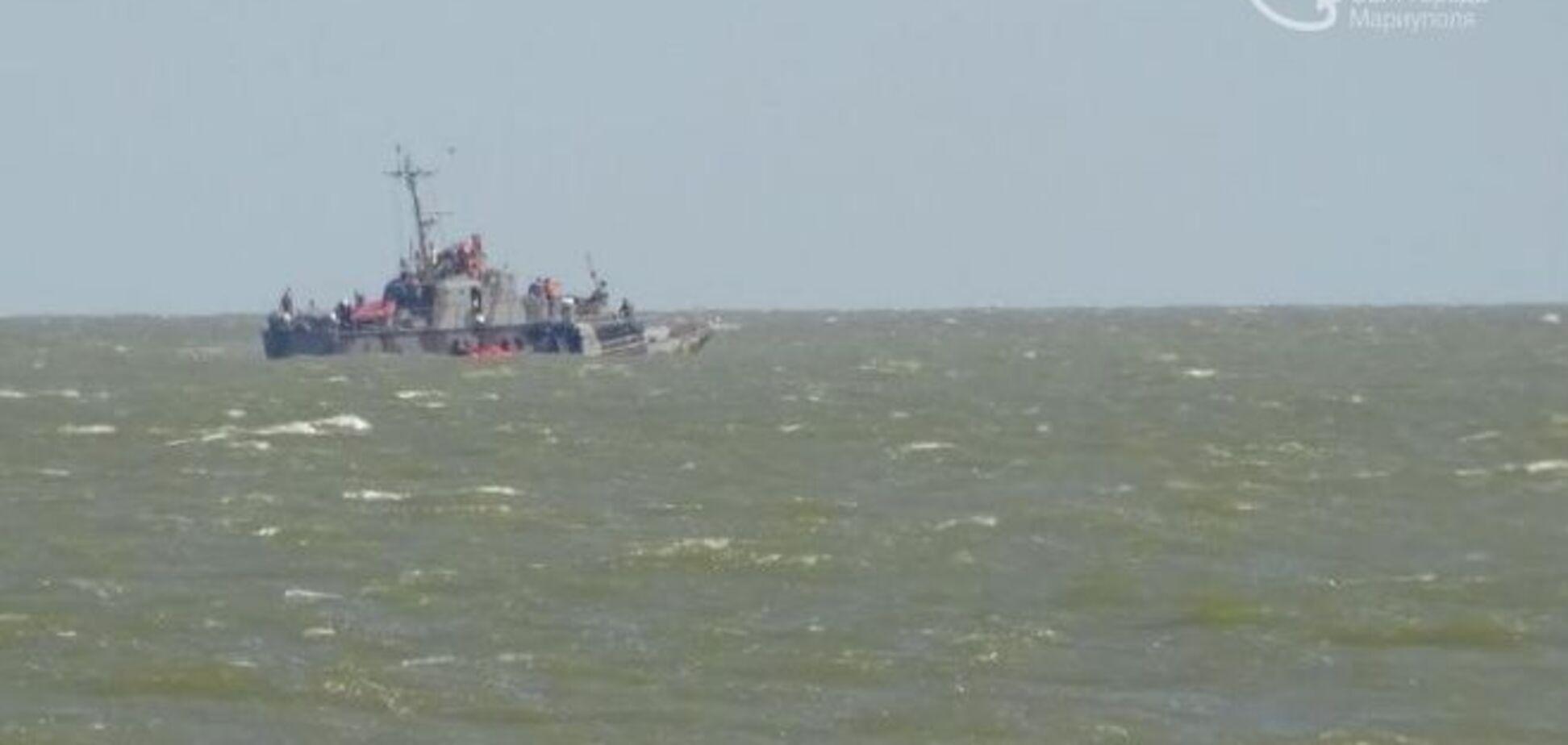 Взрыв катера в Мариуполе: командир судна пропал без вести