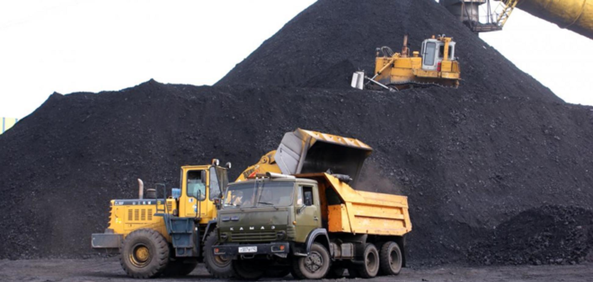 Раскрыты схемы закупок Украиной угля из 'ДНР-ЛНР'