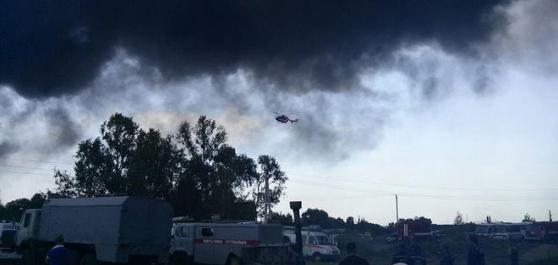 Пожар в Василькове: хозяев нефтебазы предупреждали о нарушении пожарных норм