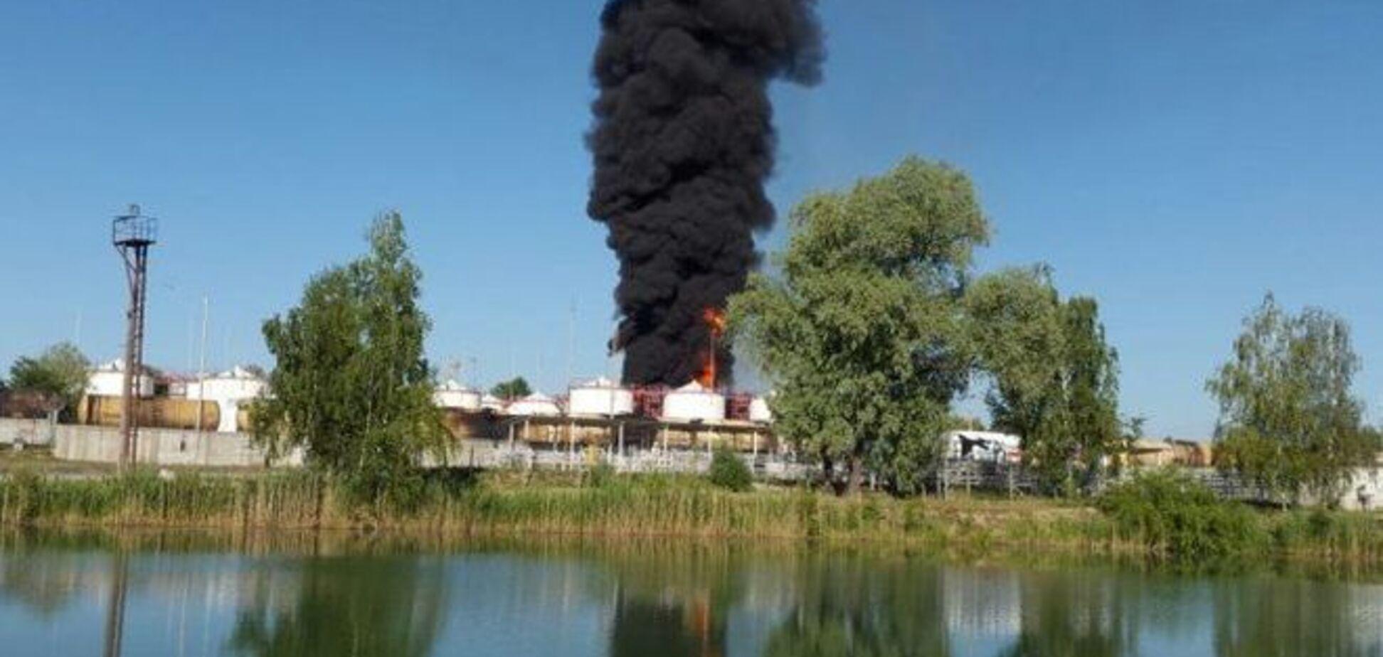 Названы три версии пожара в Василькове