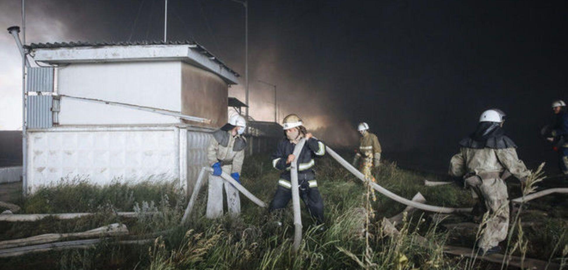 В васильковской больнице назвали число пострадавших в результате пожара