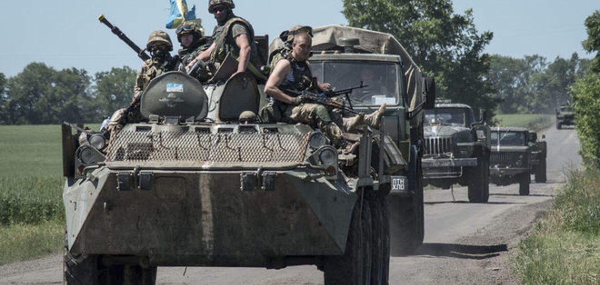 Ночь в АТО: террористы били из запрещенной артиллерии