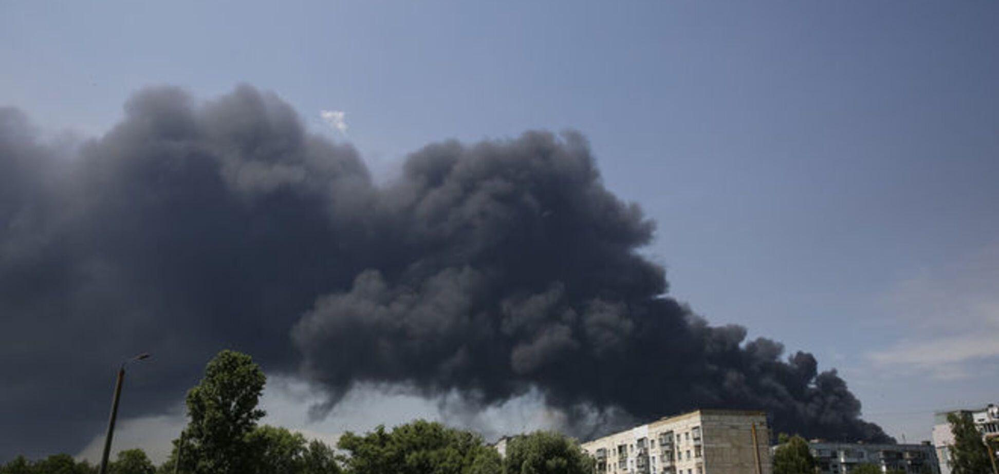 Аваков допустил связь между делами против 'БРСМ' и пожаром на нефтебазе