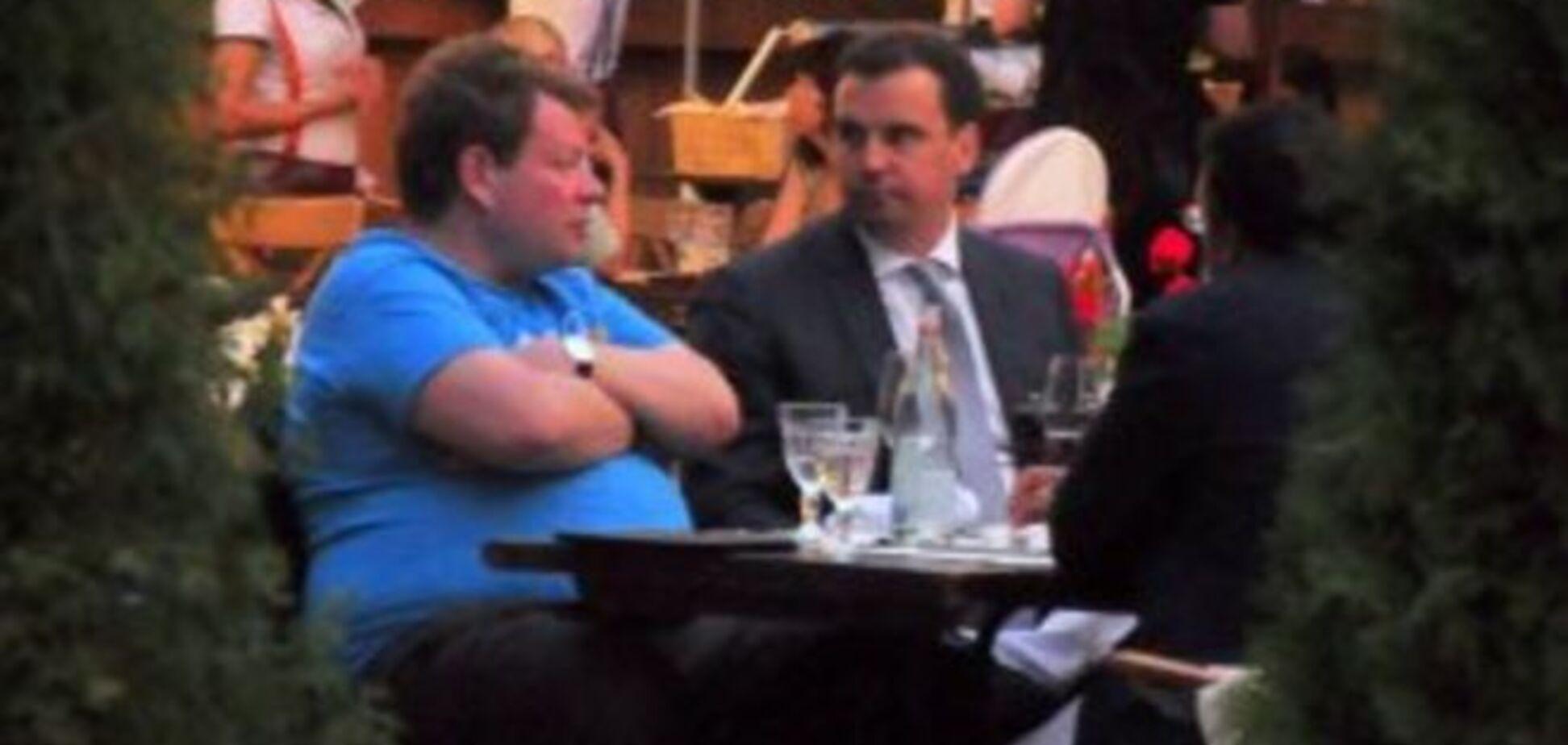 Абромавичус отдохнул в дорогом ресторане с президентом 'Киевстара': опубликованы фото