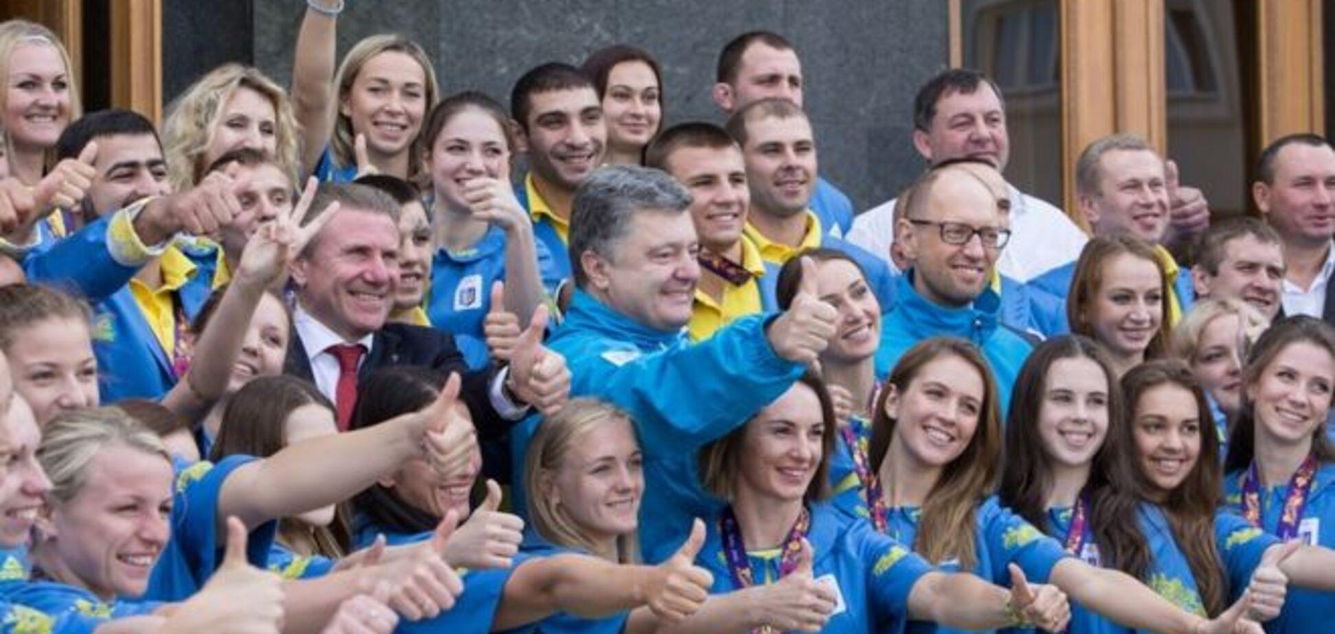 Президент Украины поздравил призеров Европейских игр