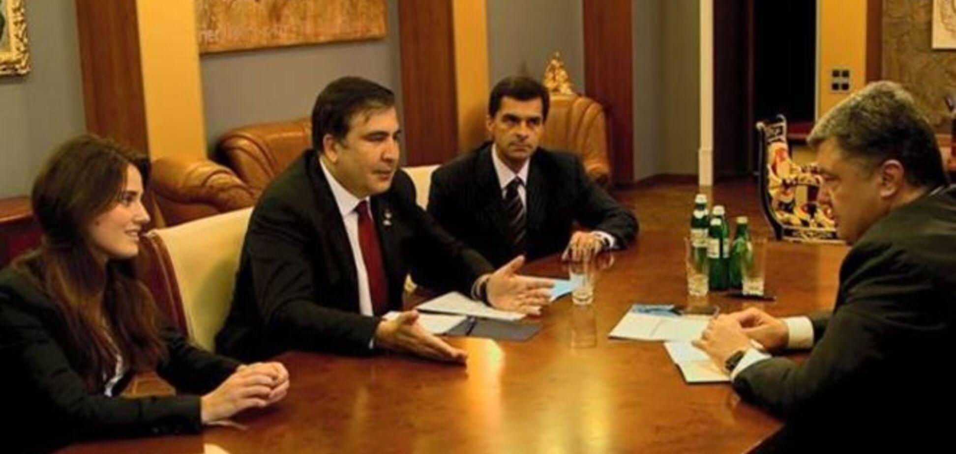 25-летняя активистка Майдана и друг Порошенко: Саакашвили показал своих заместителей