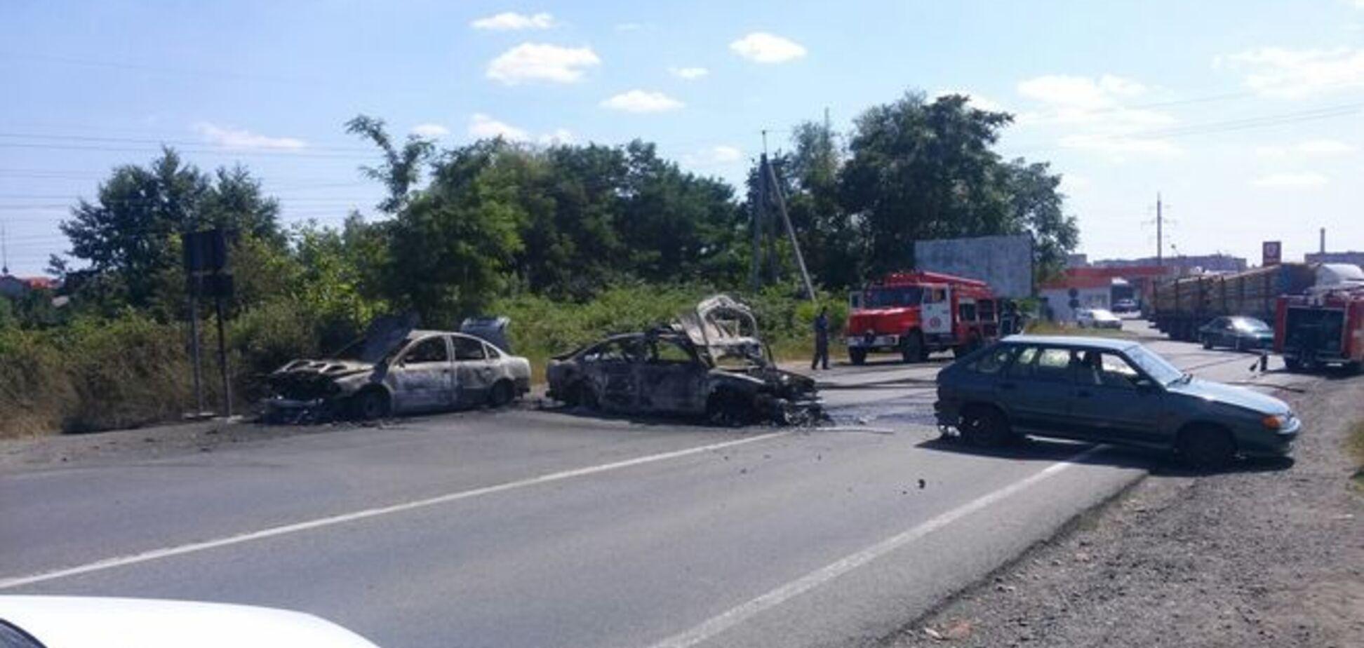 При перестрелке в Мукачево использовали тяжелое оружие
