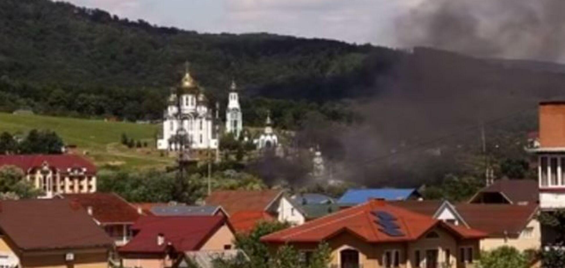 З'явилися фото і відео стрілянини в Мукачеві
