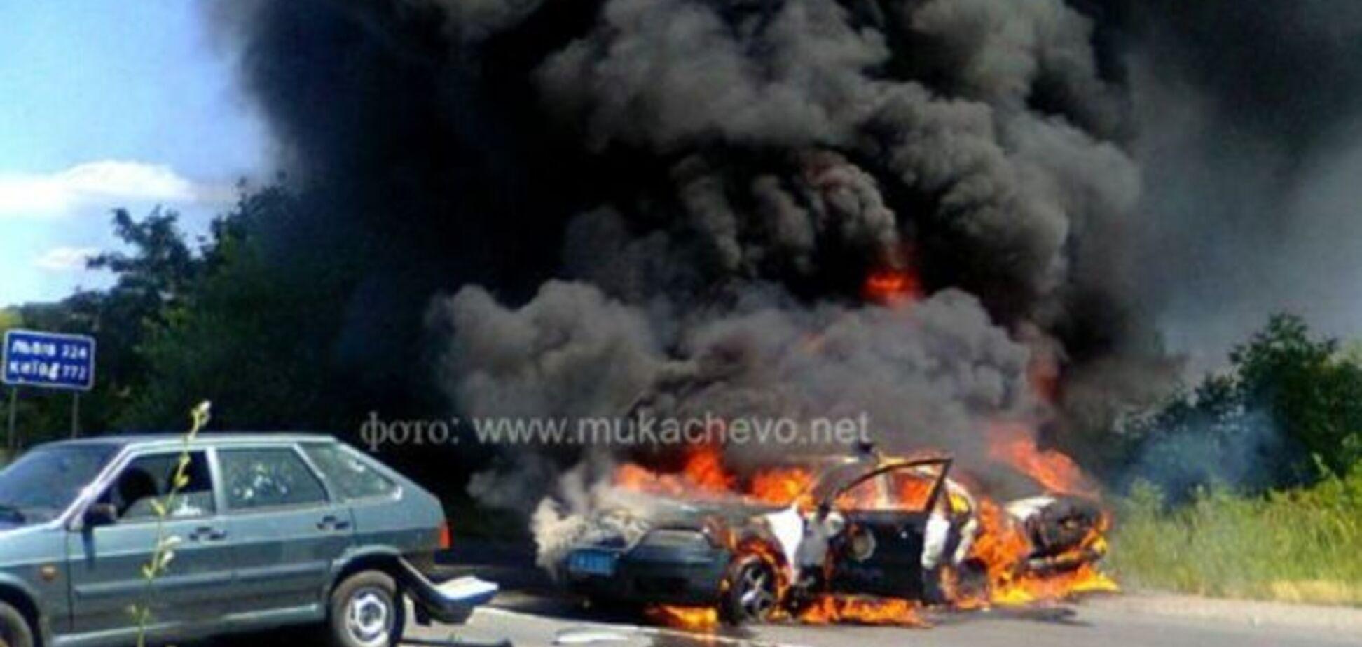 Активисты 'ПС', стрелявшие в Мукачево, зимой избили волонтеров