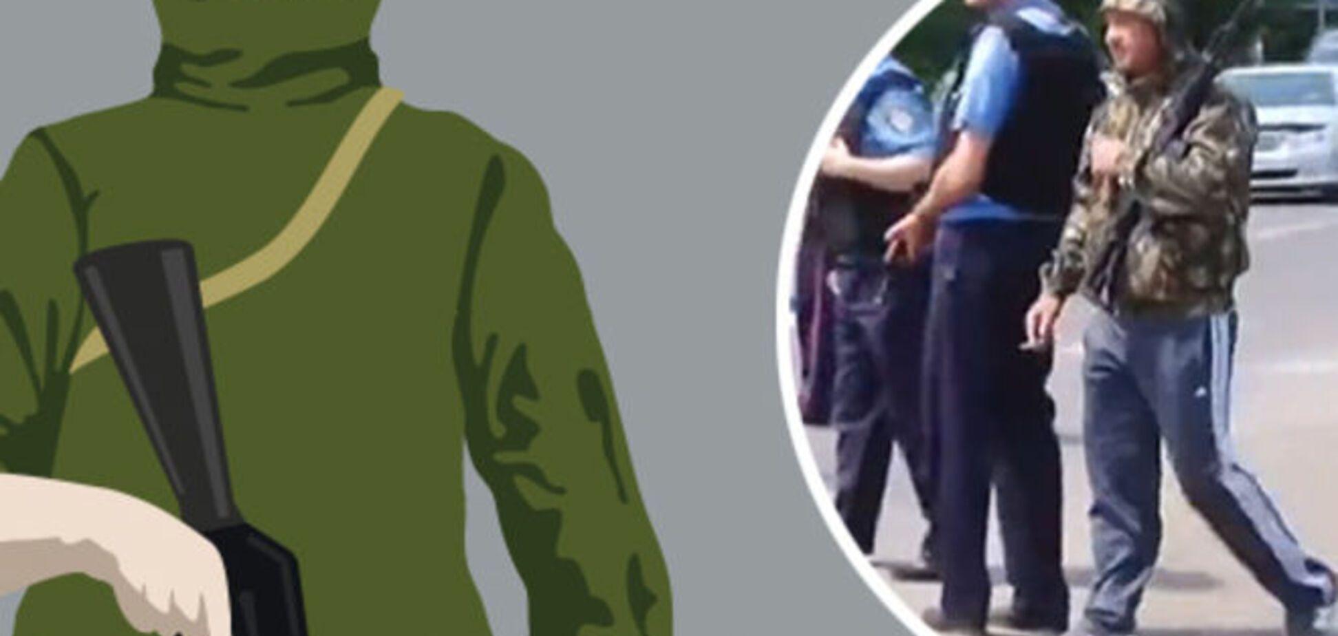 Тактические штаны и карабин. Сеть взорвали 'гопники' из Мукачево