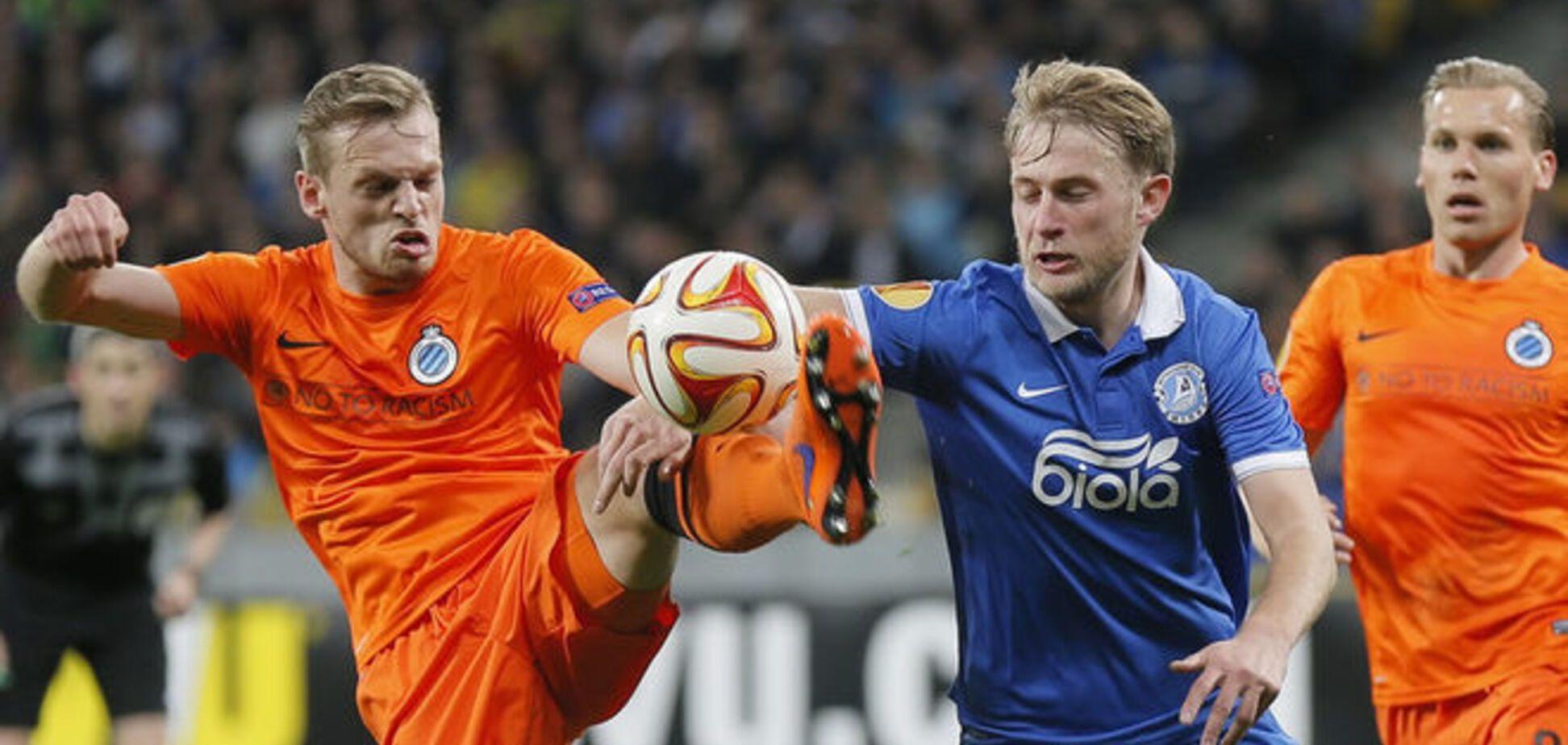 Дніпро - Брюгге - 2-1: дивитися онлайн відеотрансляцію матчу
