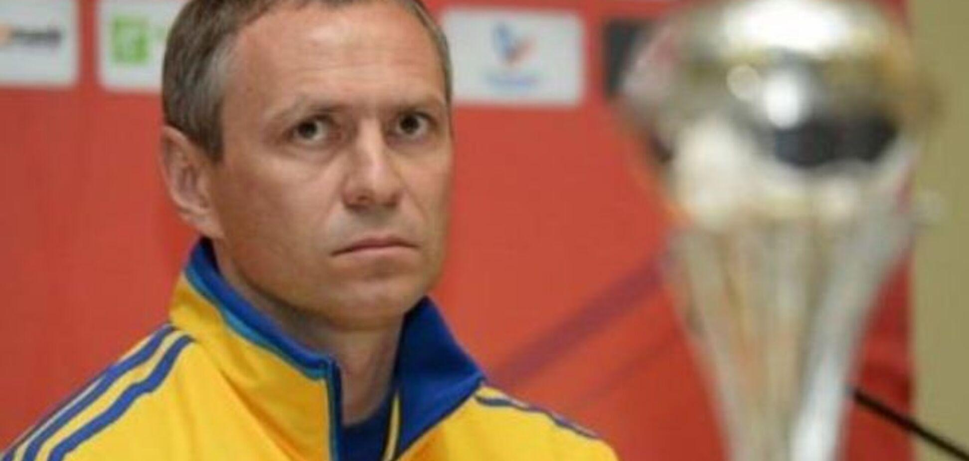 Тренер сборной Украины объяснил провал на Евро-2015