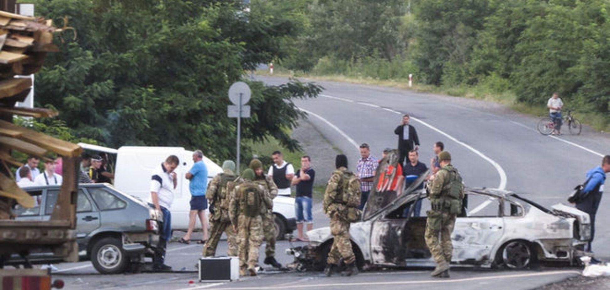 Стрілянина в Мукачеві: СБУ затримала двох бійців 'Правого сектора'