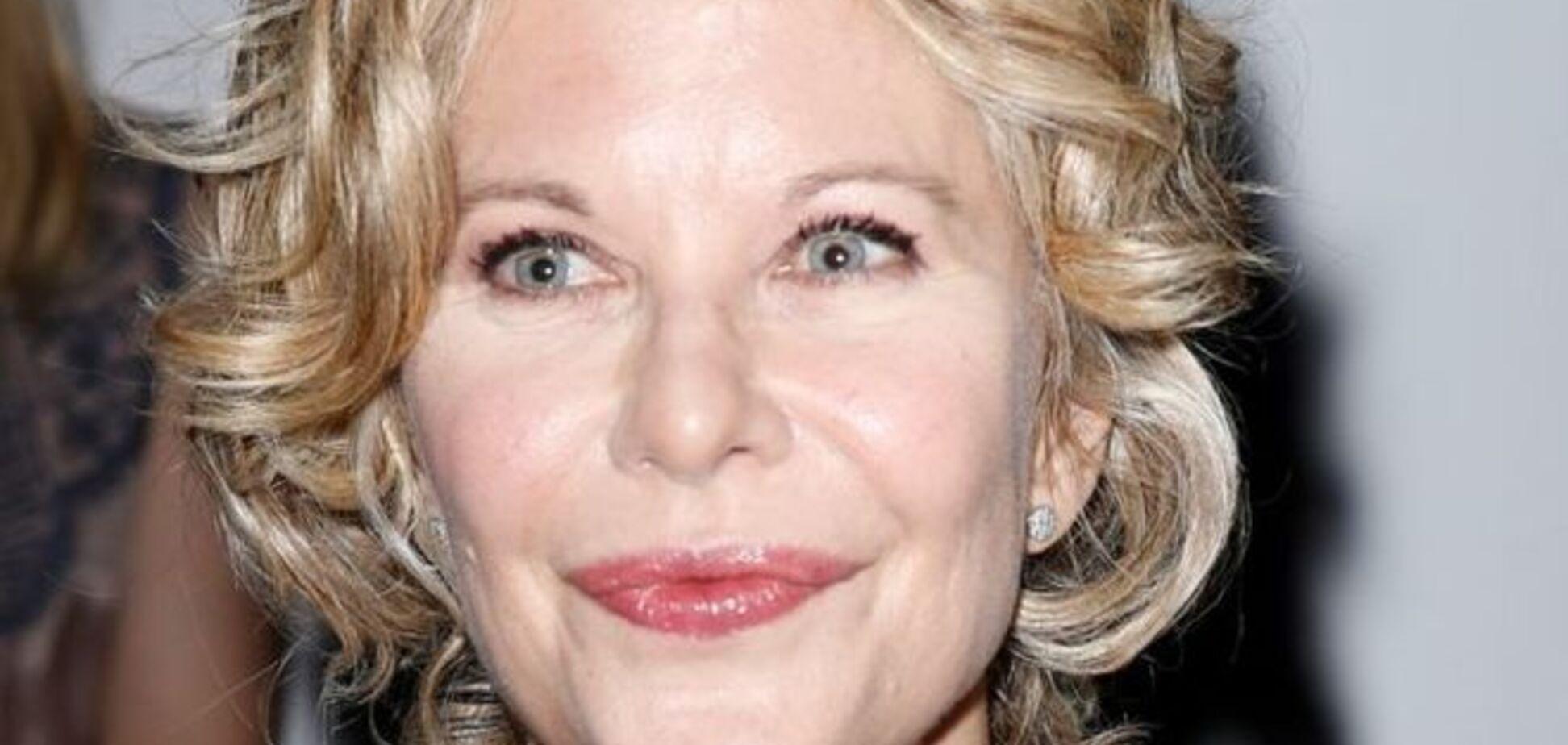 53-летняя Мег Райан шокировала новым лицом после пластики