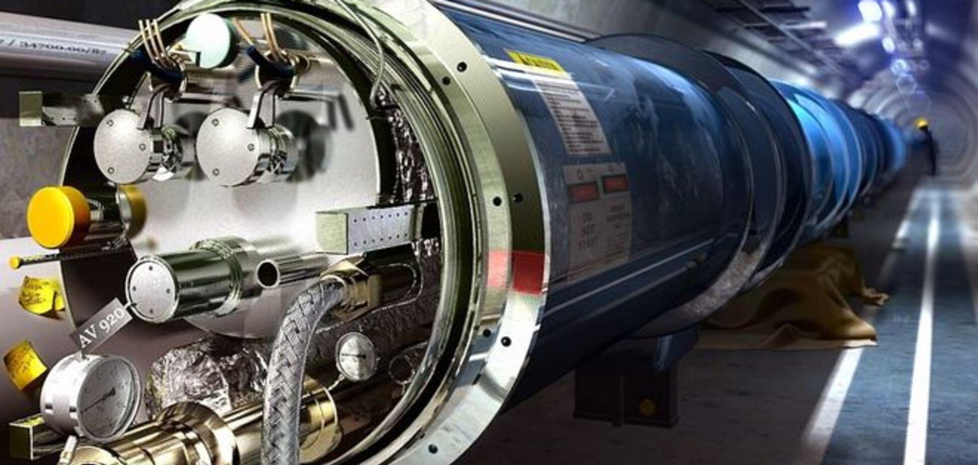 Ученые ЦЕРН нашли в адронном коллайдере 'дьявольские' частицы