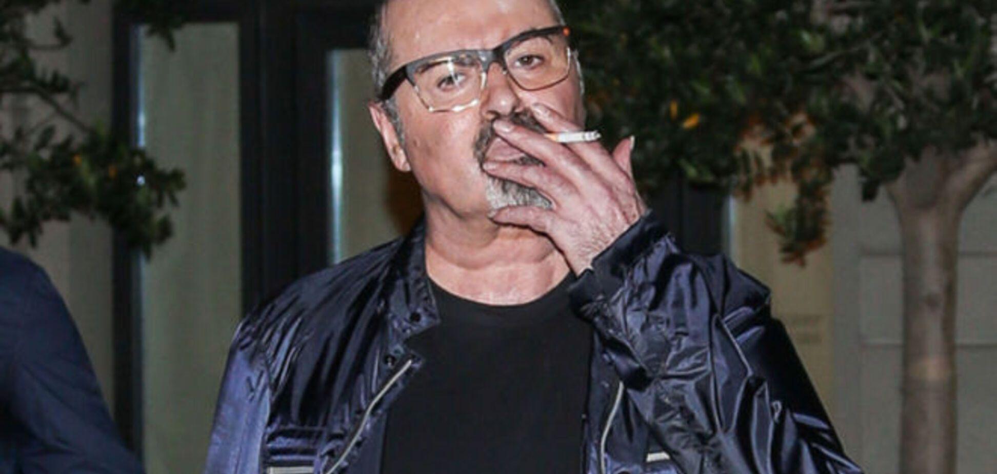 На грани: наркозависимый Джордж Майкл поразил своим видом