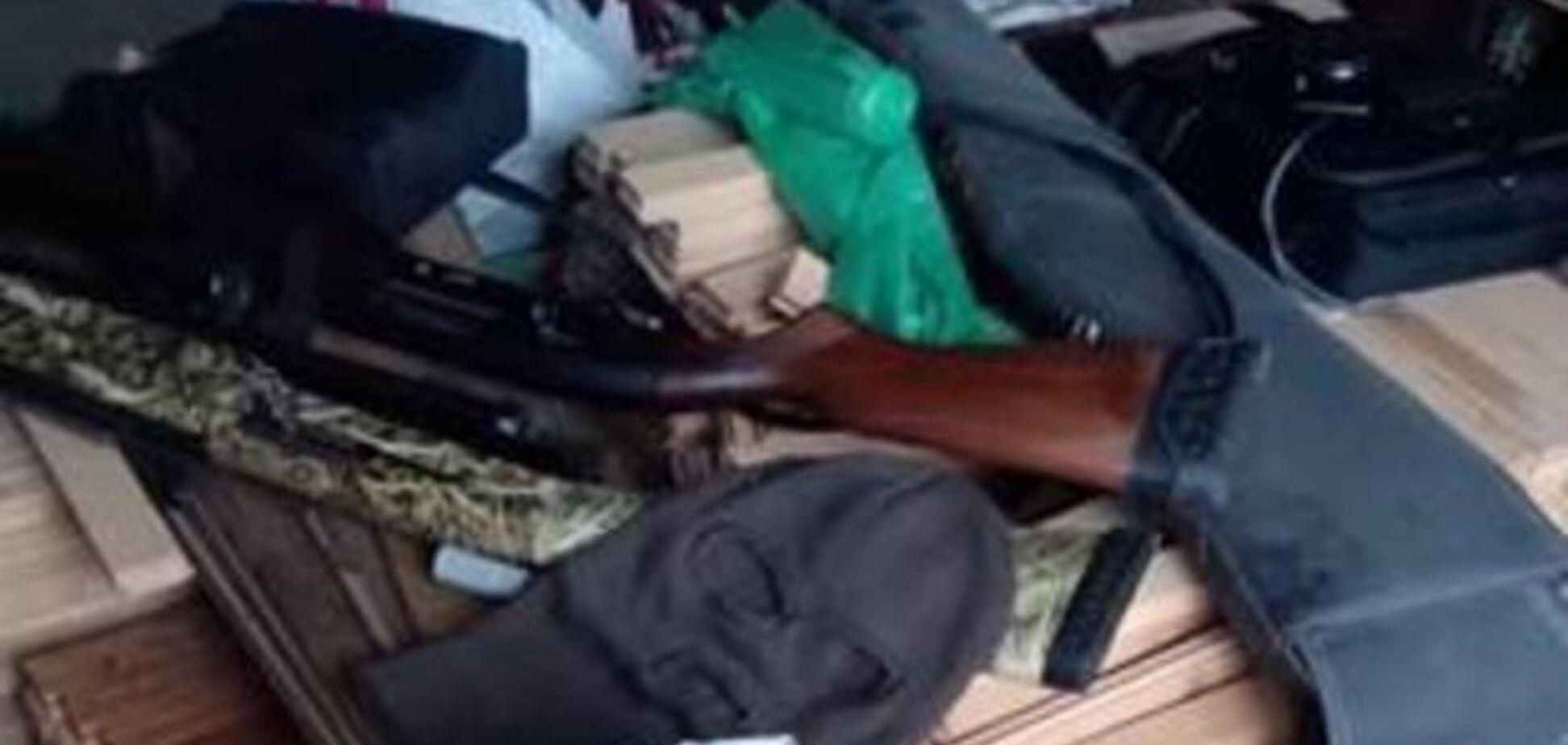 СБУ показала арсенал оружия, который нашла у людей Ланьо: опубликованы фото