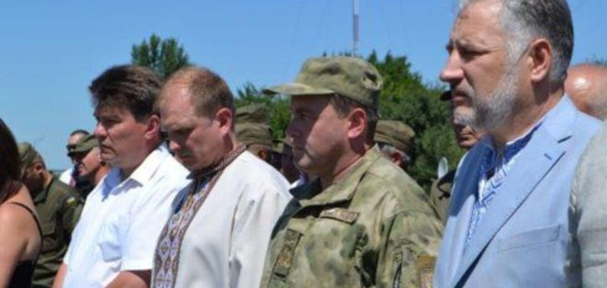 Жебрівський хоче сформувати на Донеччині нову українську еліту