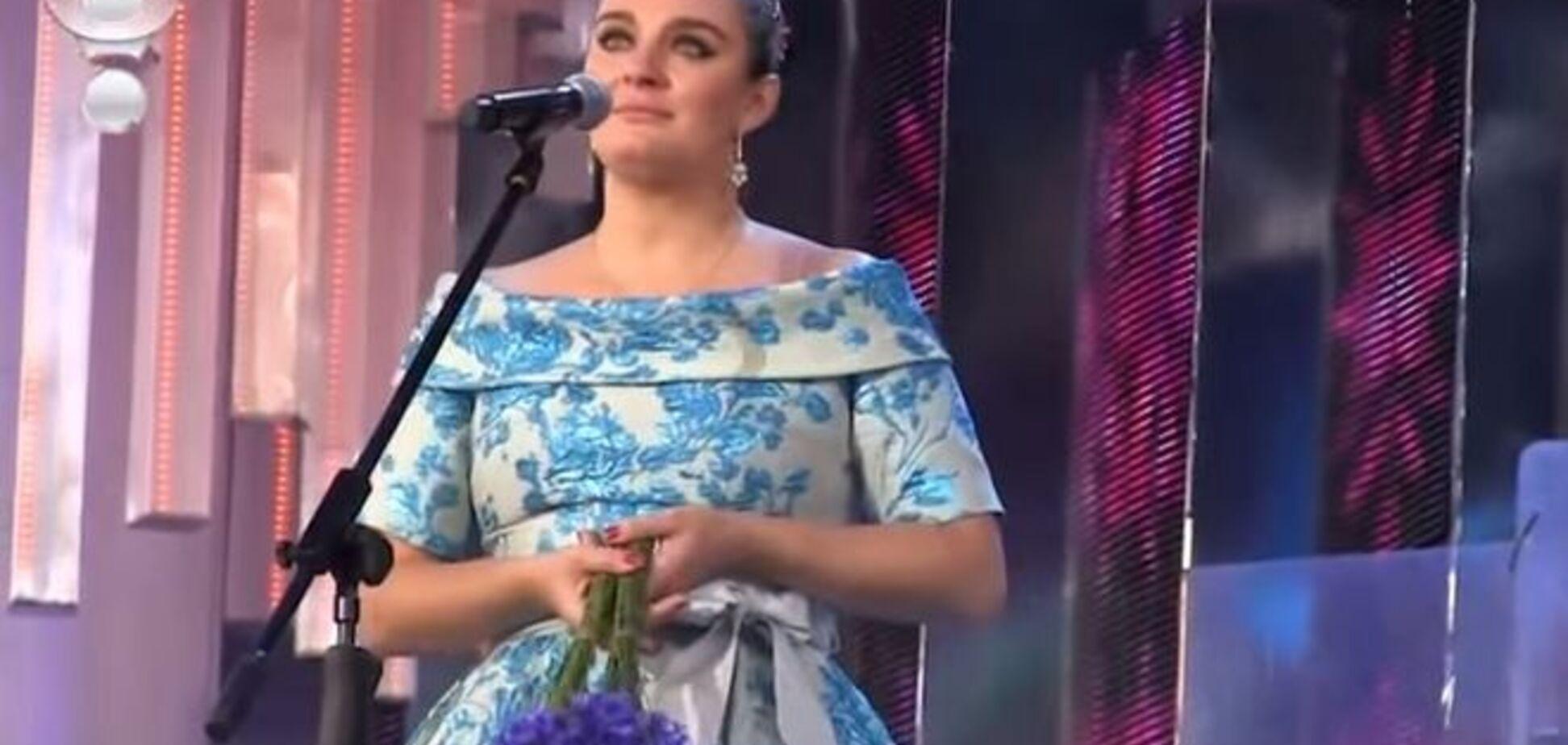 Російська співачка Ваєнга зізналася в любові до України: відеофакт