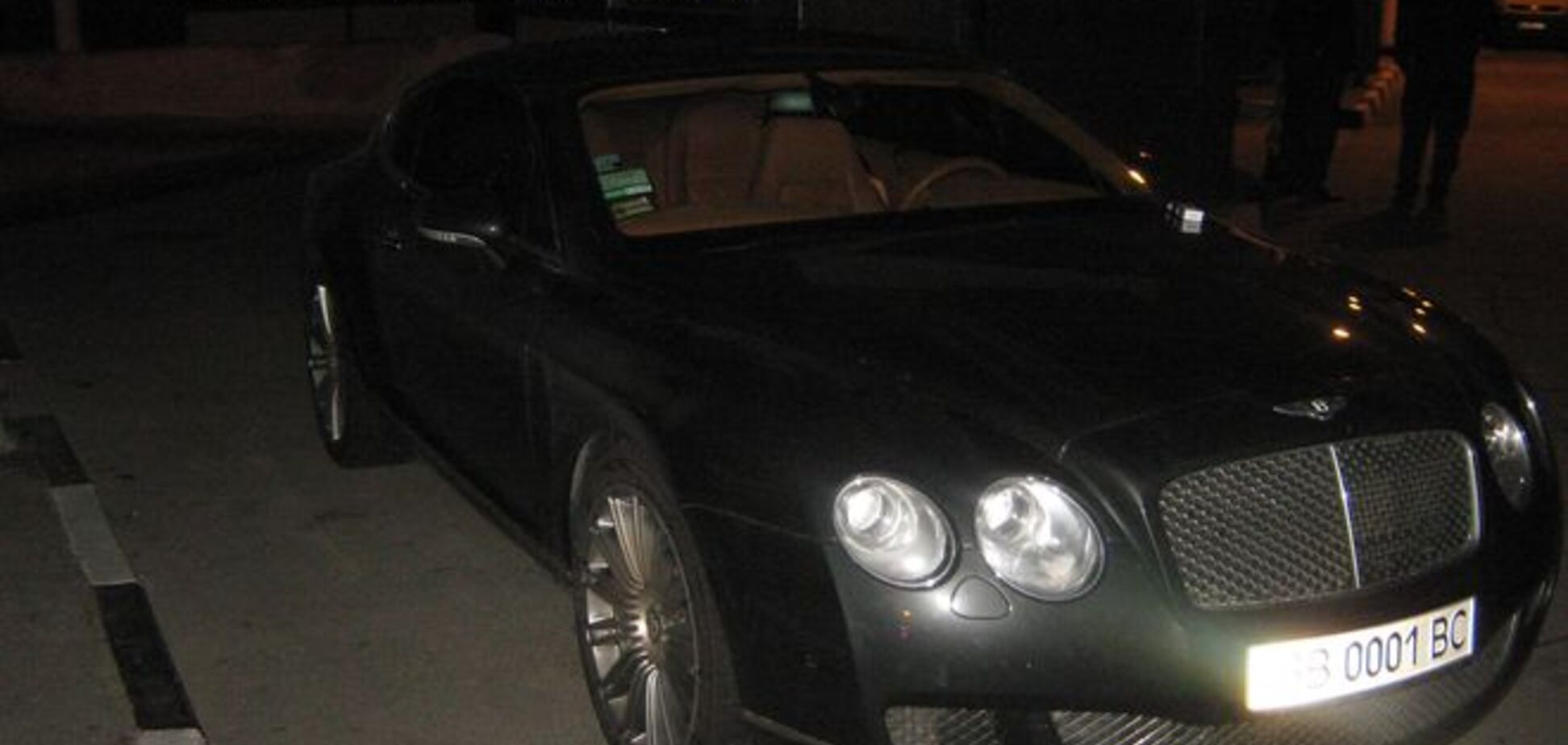 Прикордонники затримали елітний 'Bentley' екс-нардепа 'Партії регіонів'