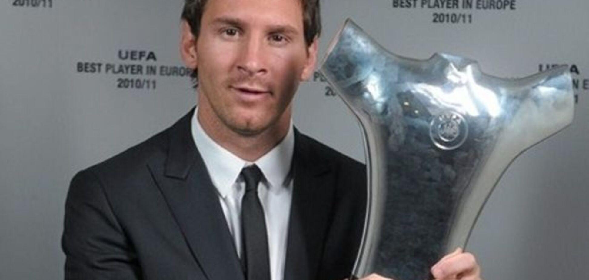 УЄФА назвав десятку кращих футболістів сезону