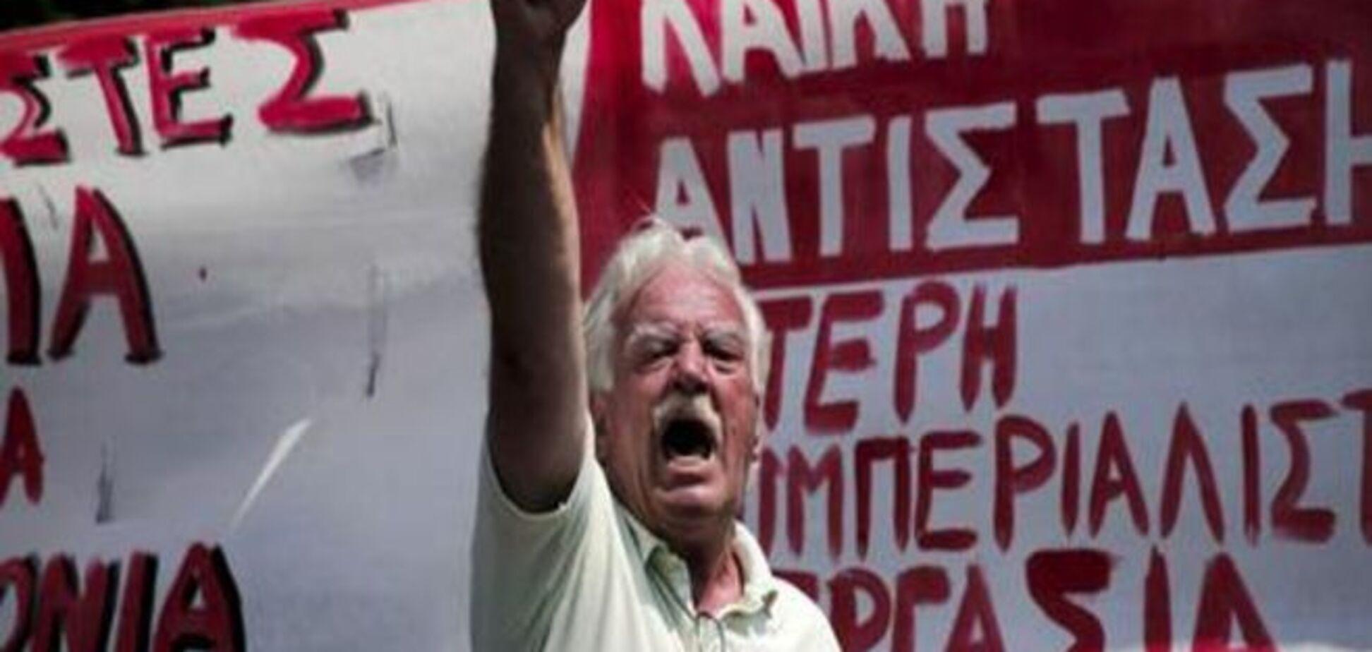 Тисячі греків закликають парламент не підтримувати узгоджені реформи