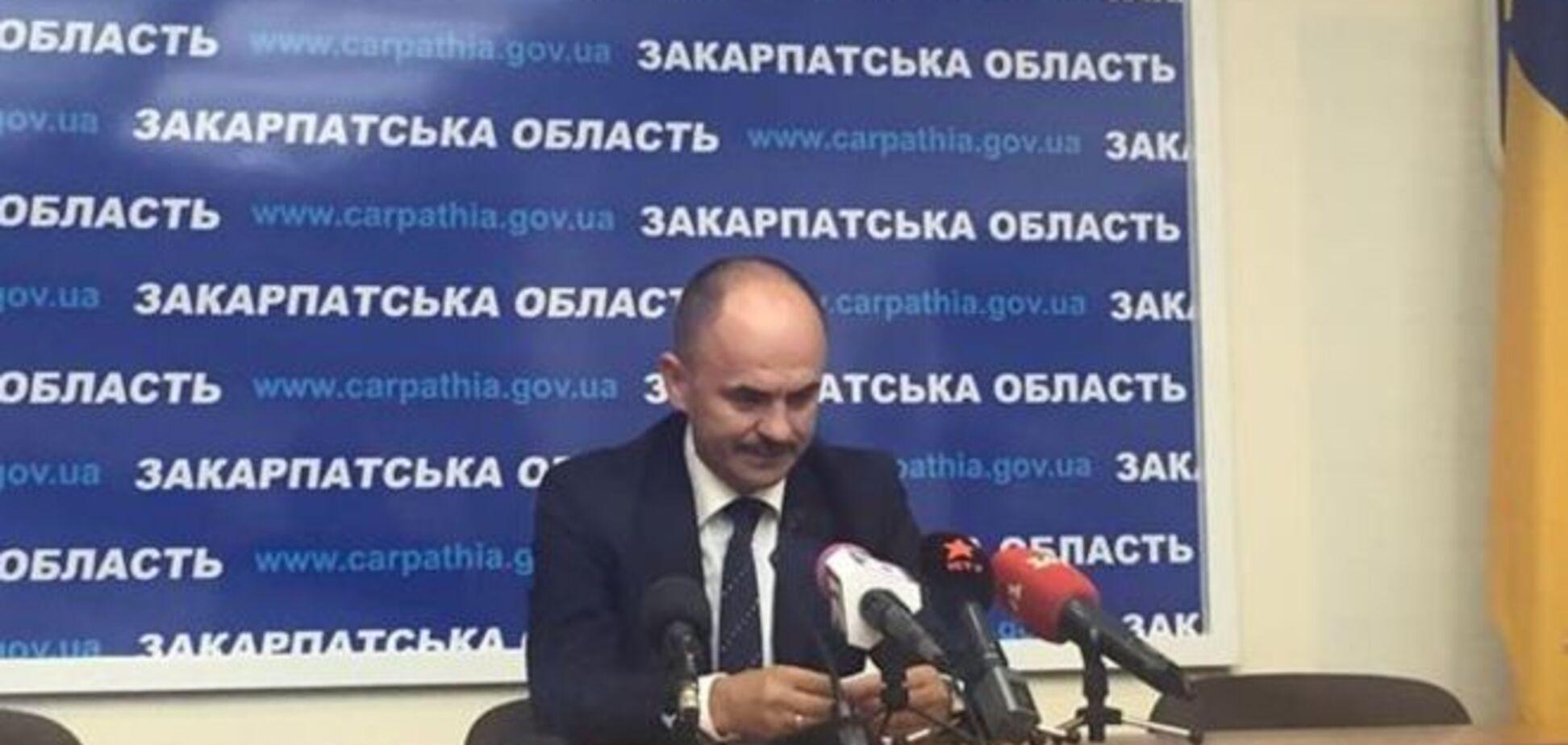 Демарш проти Президента: всі голови РДА на Закарпатті звільнилися