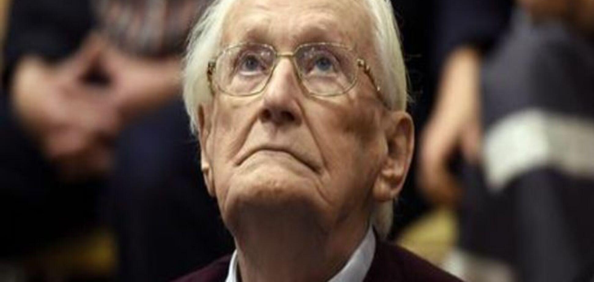 'Бухгалтера Освенціма' засудили до чотирьох років позбавлення волі