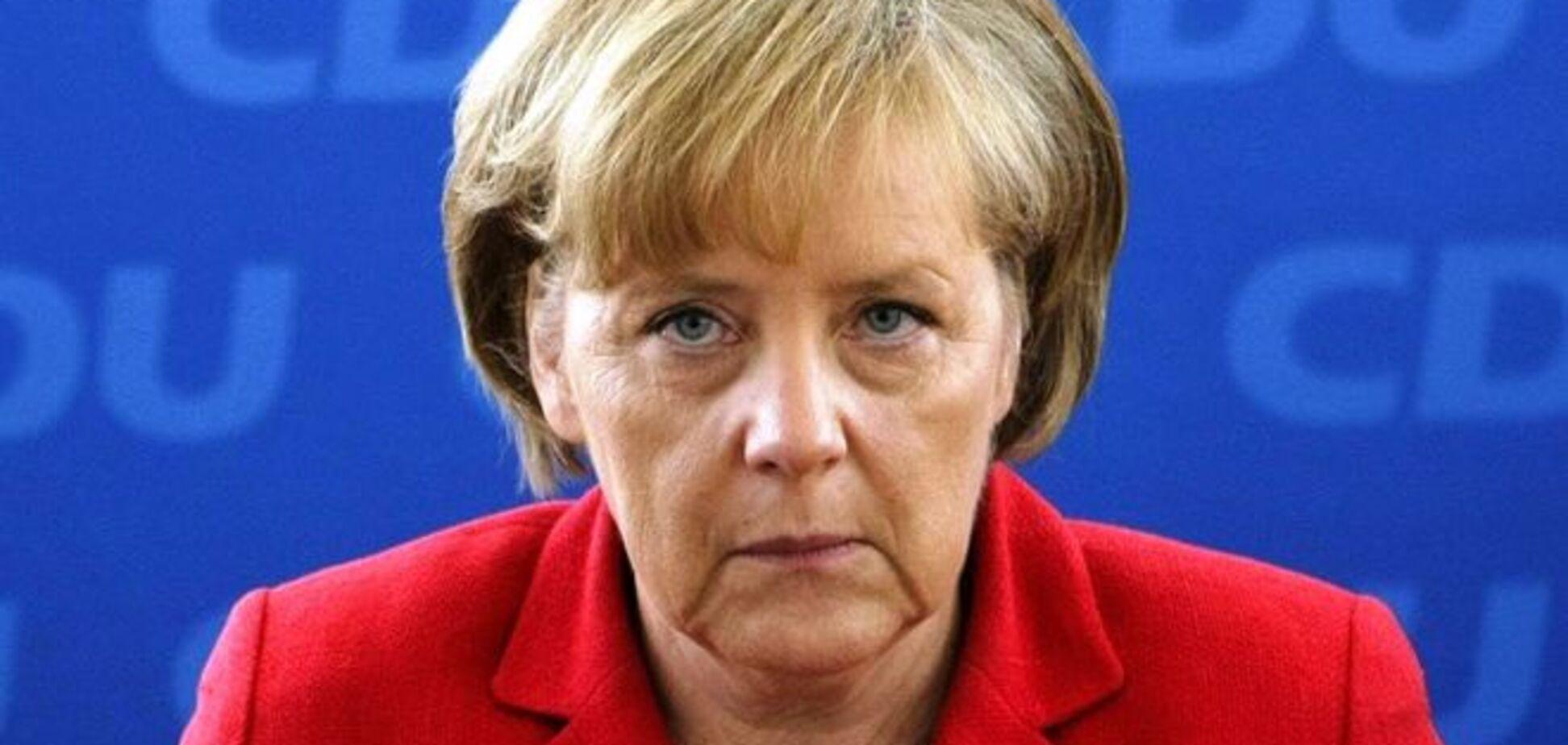 Меркель выступила против гей-браков