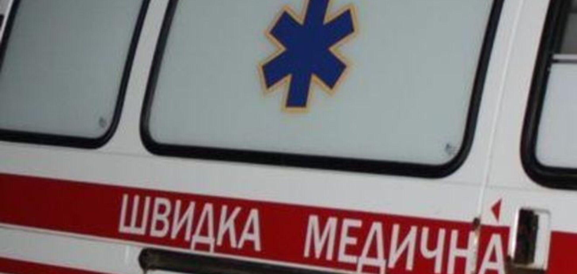 НП на дорозі в Києві: травмований комунальник