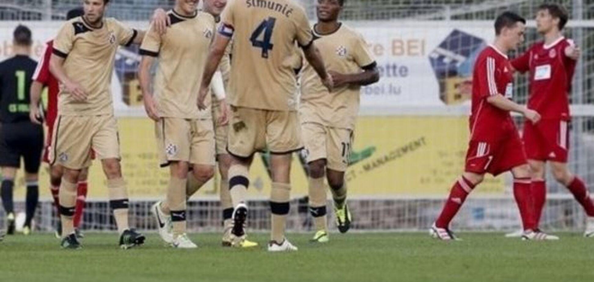Хорватское 'Динамо' опозорилось в Лиге чемпионов