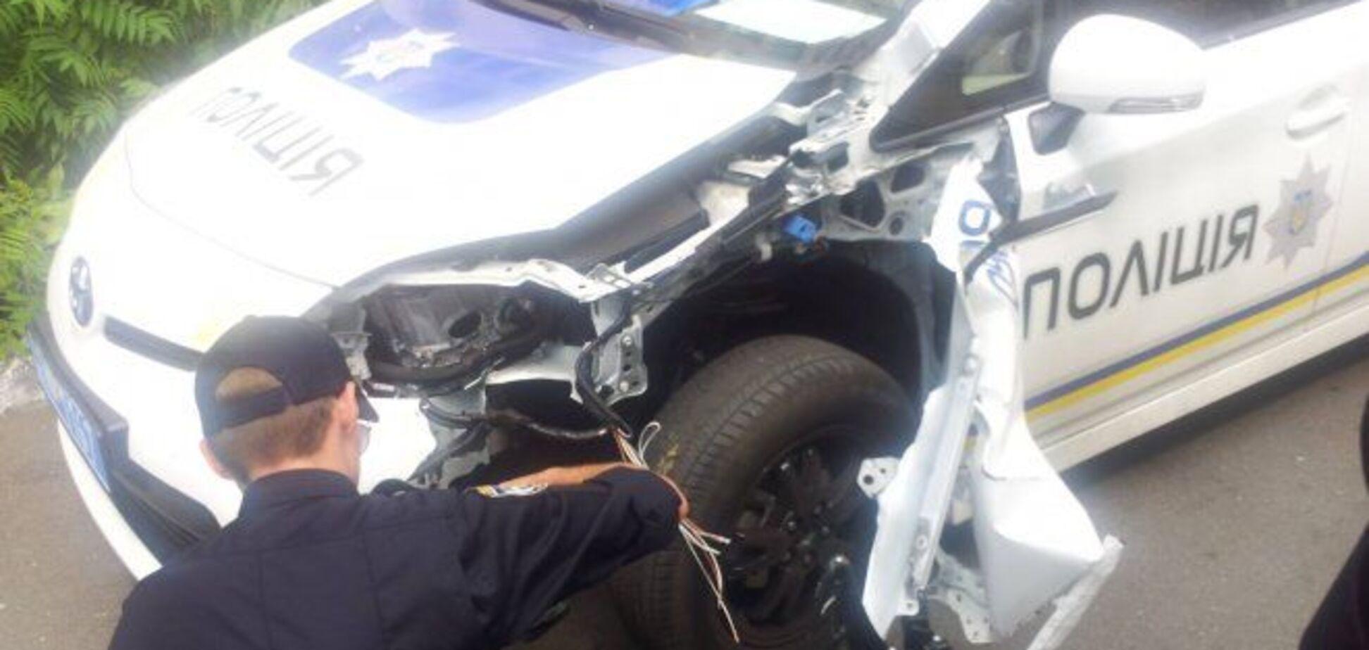 Київські поліцейські розбили в ДТП 10 службових авто