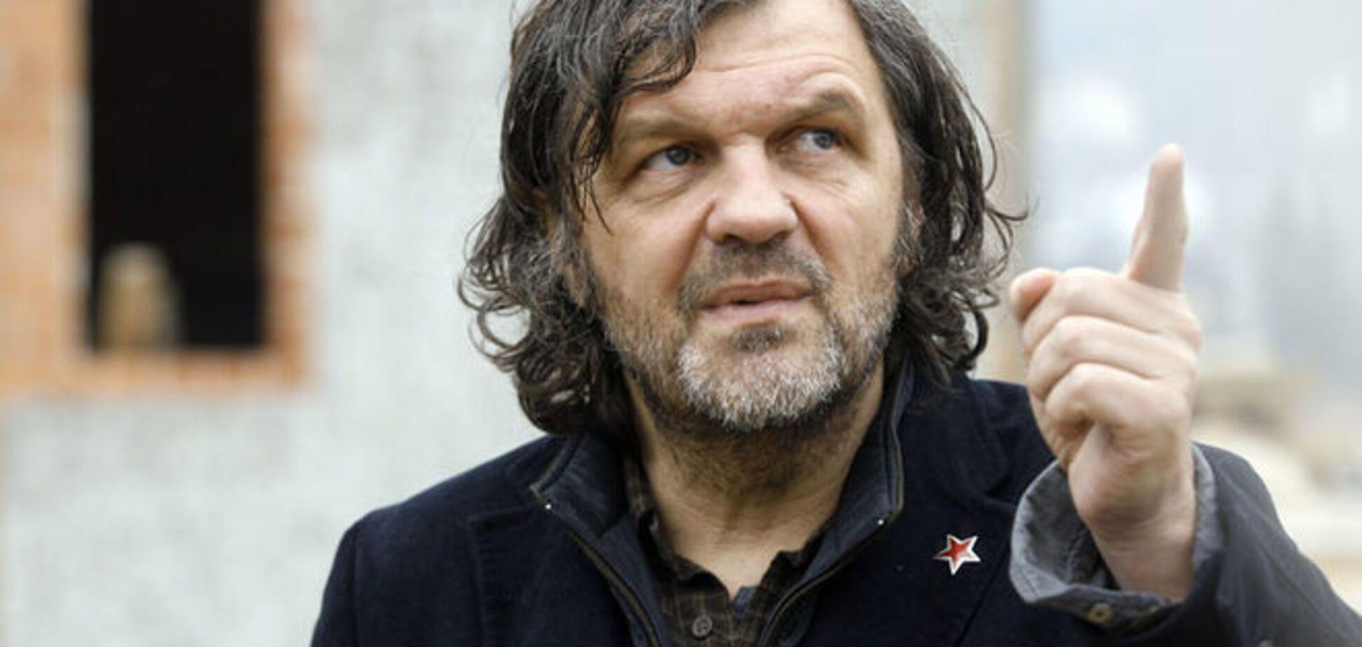Минкульт потребовал от СБУ запретить въезд Кустурицы в Украину