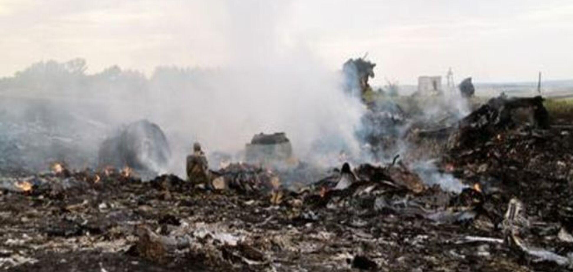 В Австралії опубліковане відео з місця падіння МН17