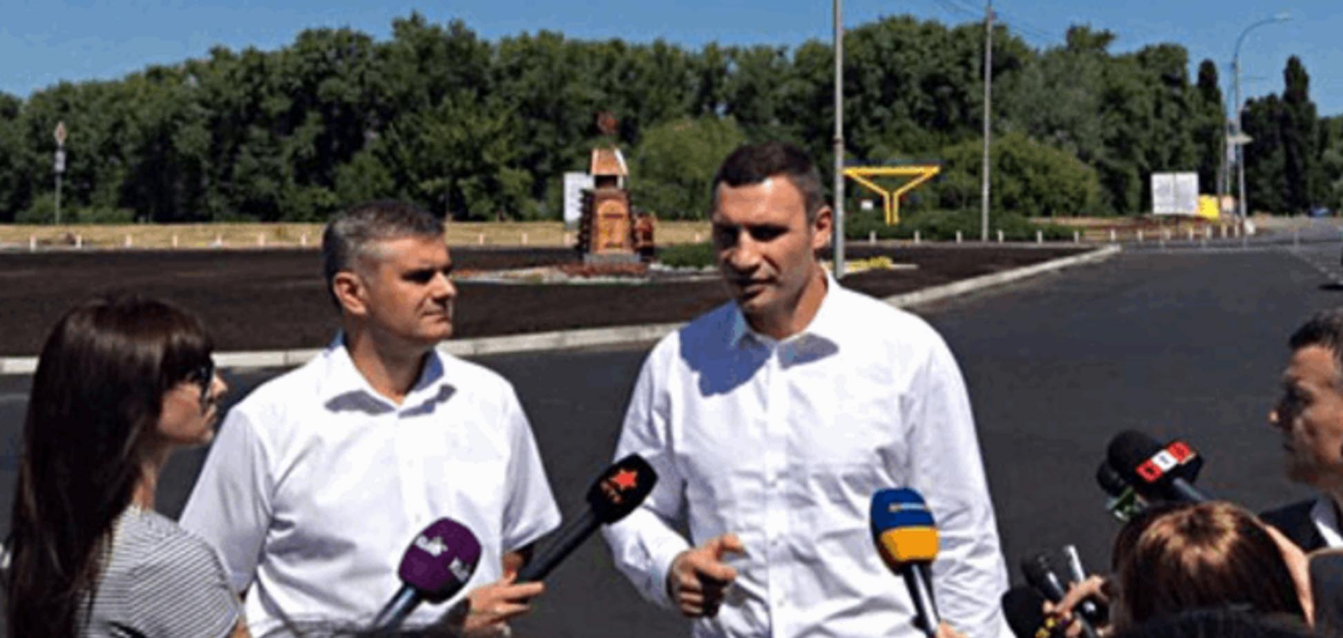 Кличко проінспектував капітальний ремонт доріг у столиці