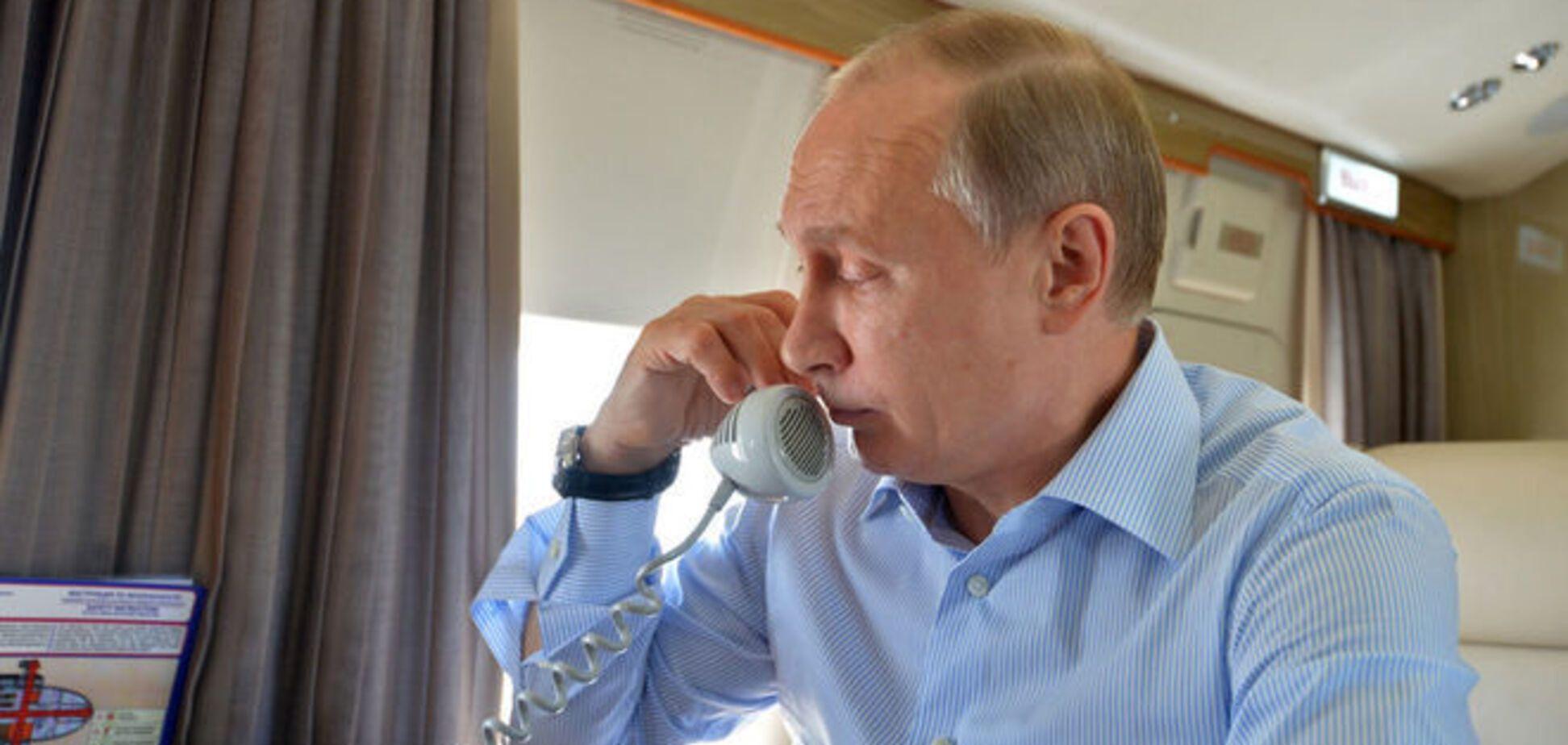 Путін видав свою версію розмови 'нормандської четвірки'