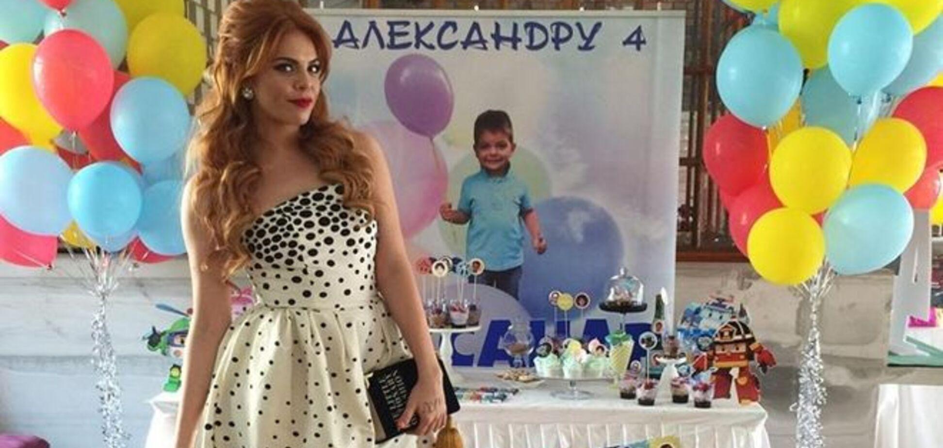 Не Киркоров: Стоцкая показала поклонникам фото папы ее сына