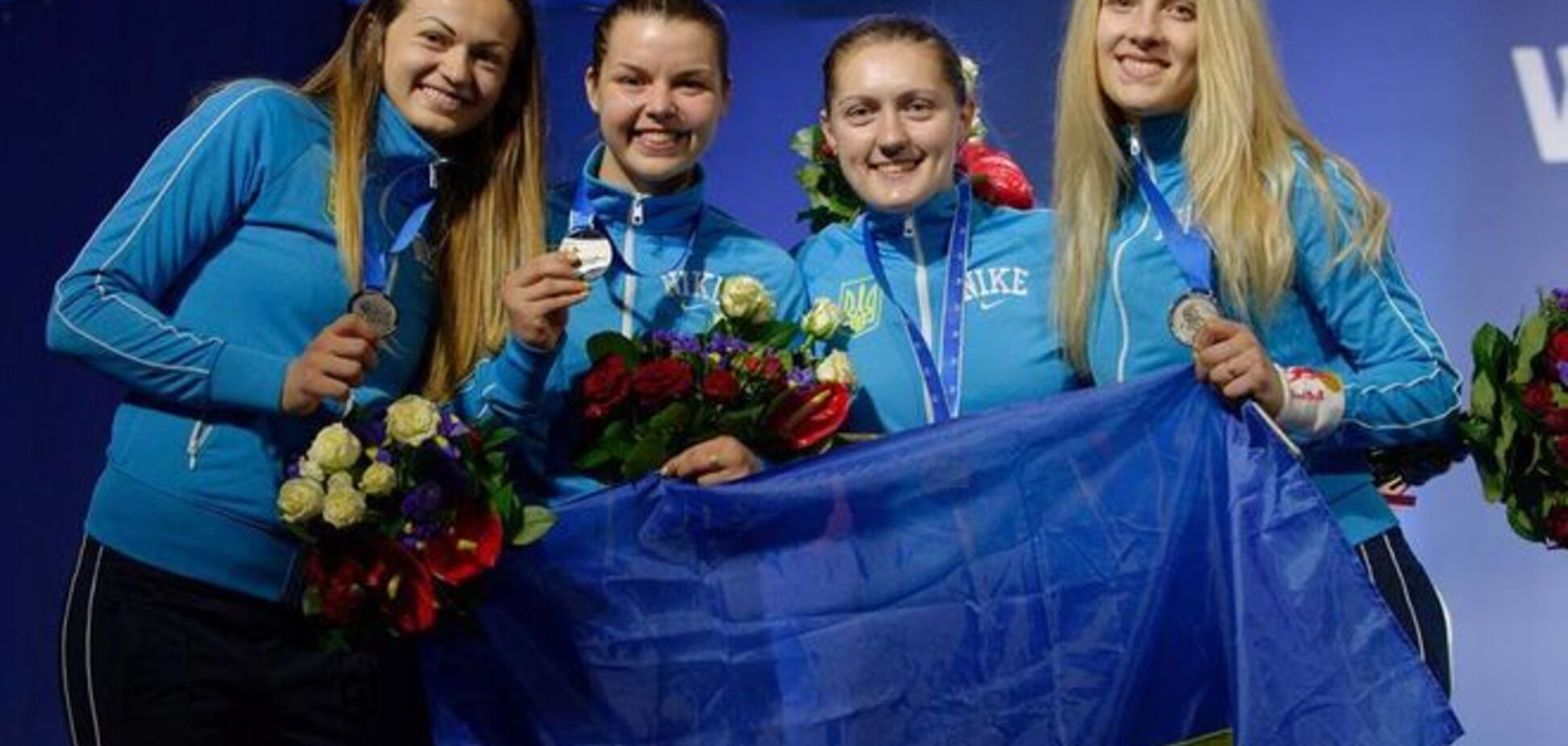Українські шаблістки завоювали 'срібло' чемпіонату світу в Москві