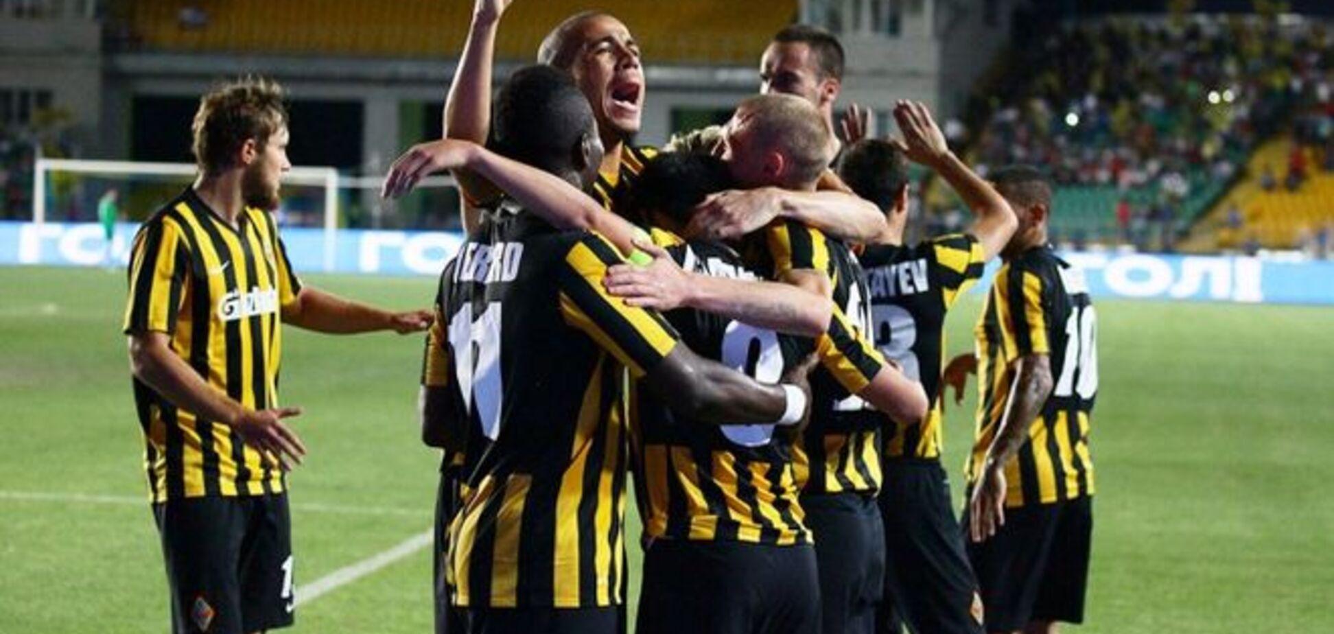 Команда Тимощука устроила разгром в Лиге Европы