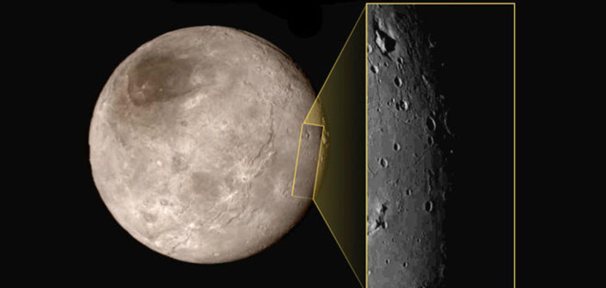 NASA виявило на супутнику Плутона гірський 'замок'