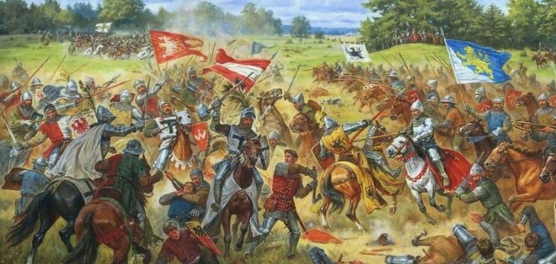 Росія намагається 'вкрасти' у Литви та Польщі перемогу в Грюнвальдській битві - Gazeta Wyborcza
