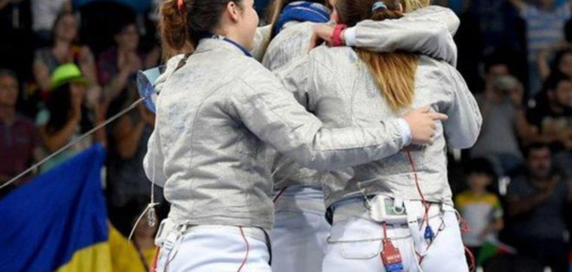 Українські шаблістки вийшли у півфінал чемпіонату світу в Москві