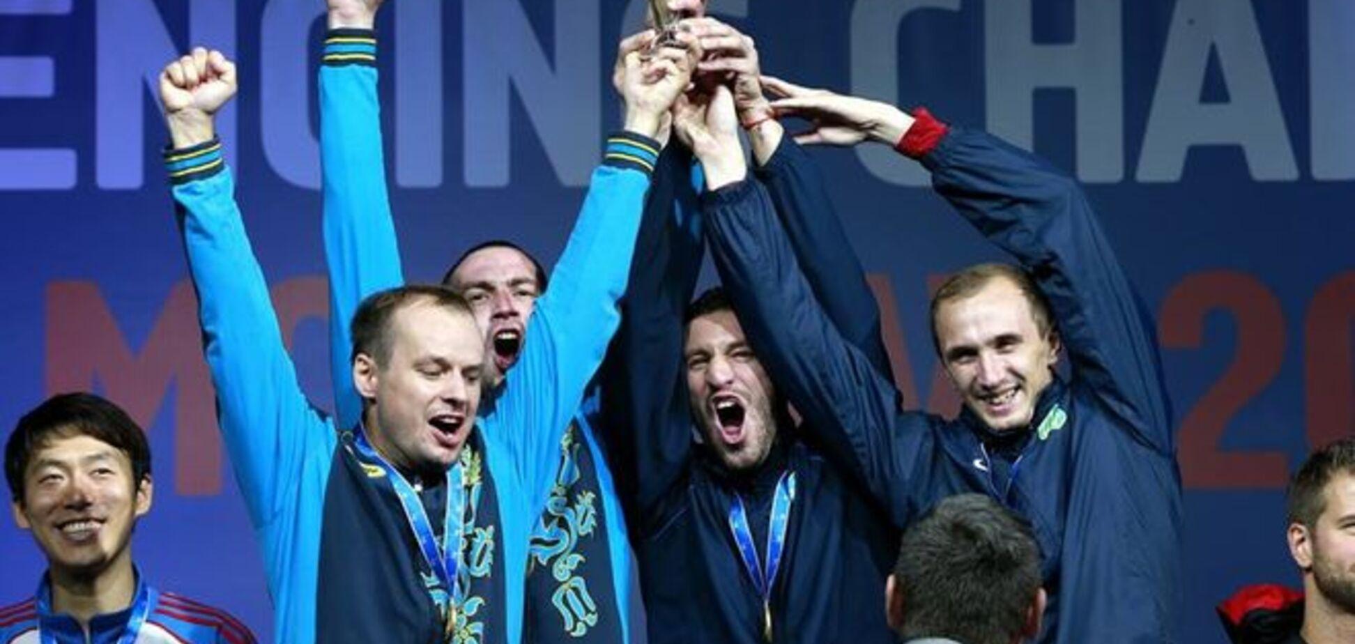 Українські шпажисти фантастично виграли чемпіонат світу в Москві