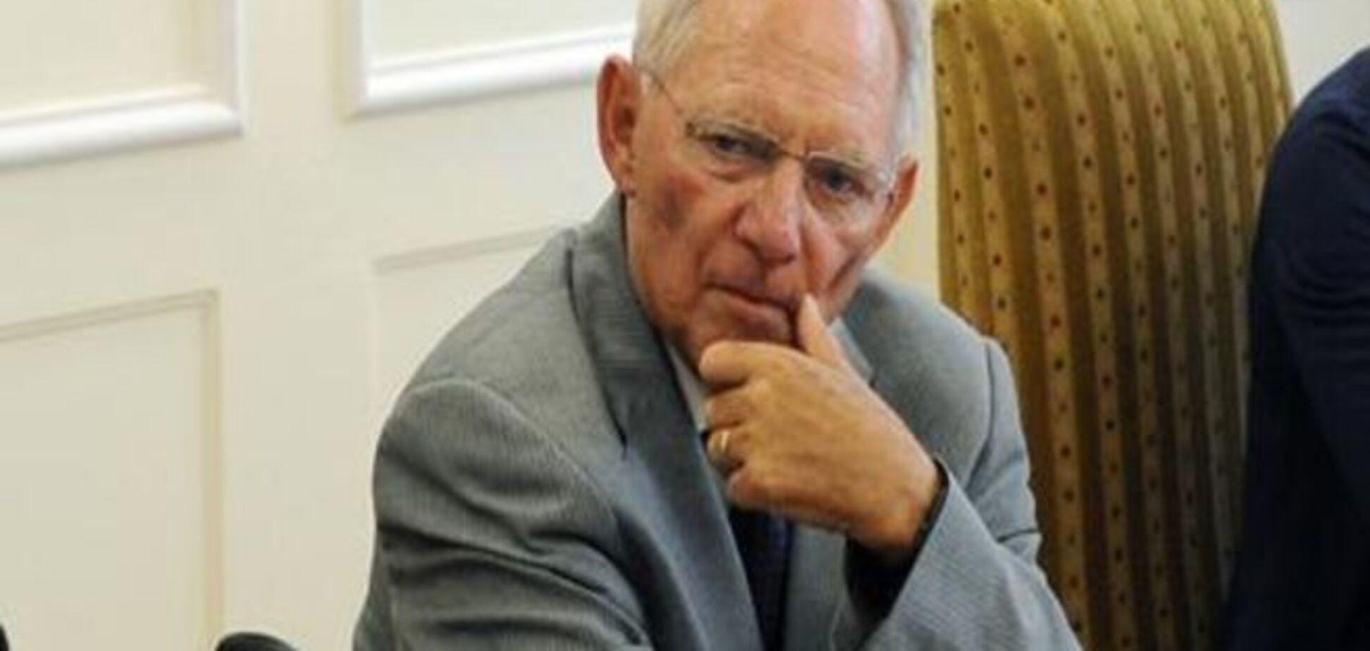 Глава німецького мінфіну готовий піти у відставку через Грецію