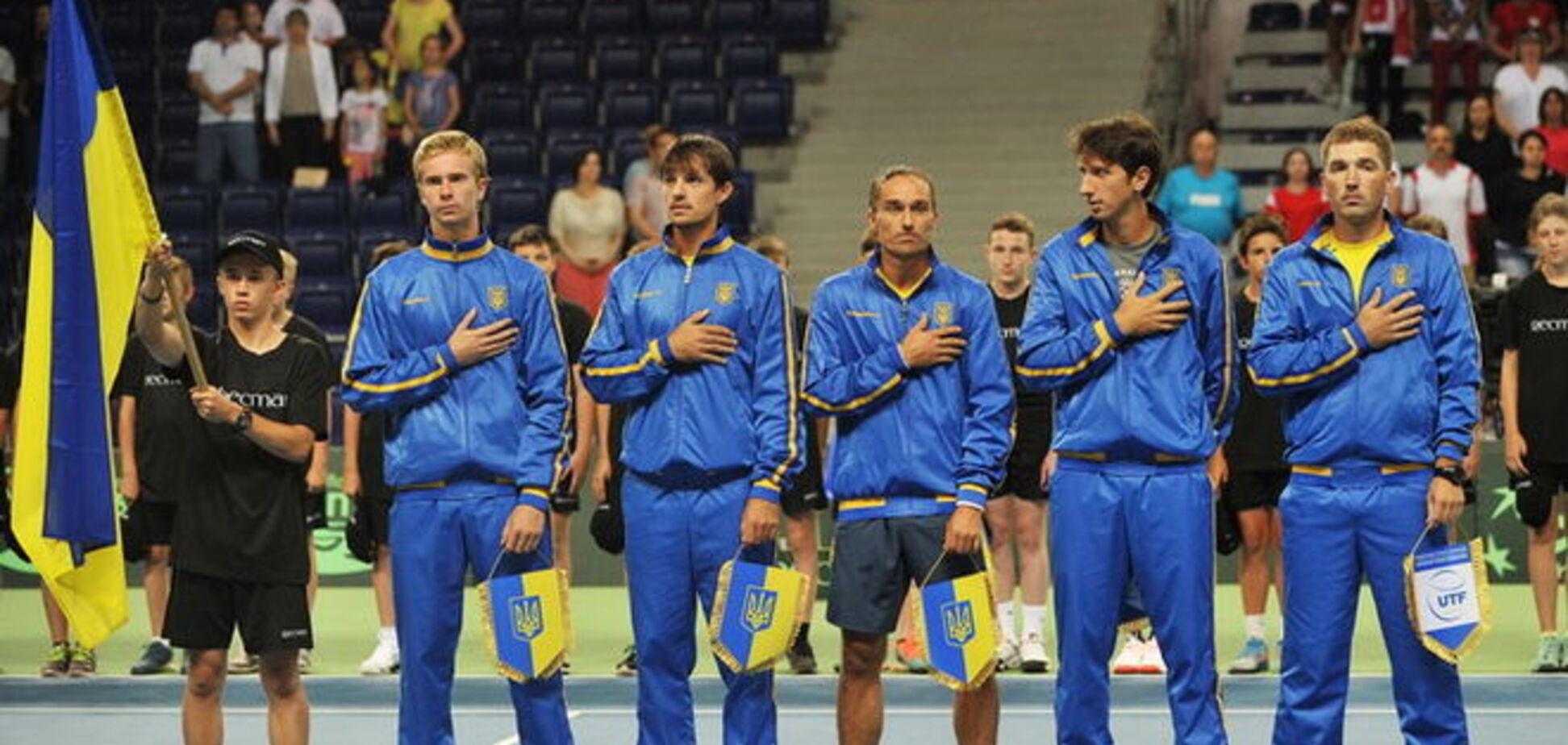 Украина проиграла Польше третий матч в Кубке Дэвиса