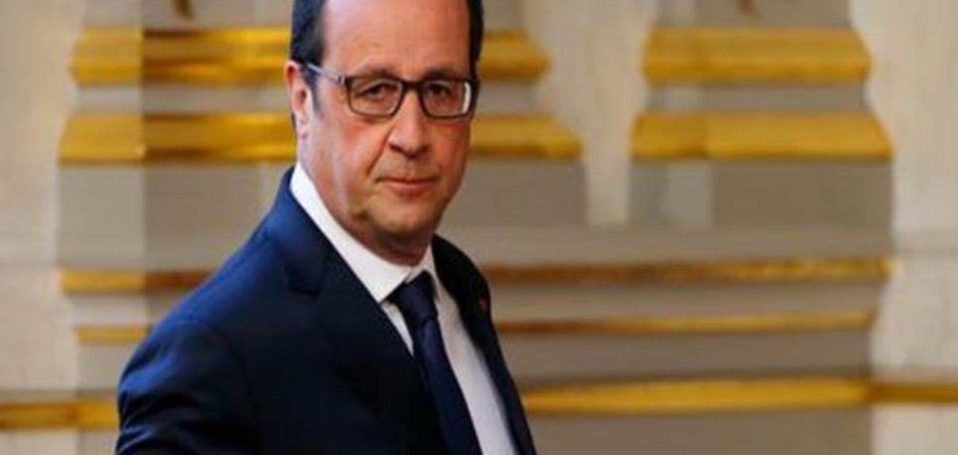Олланд виступив за створення уряду Єврозони